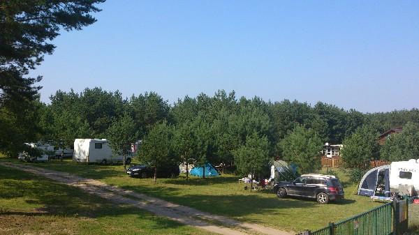 Miejsce Pod Przyczepę Campingową Na Cały Sezon Nad Jeziorem Wdzydze, Kaszuby