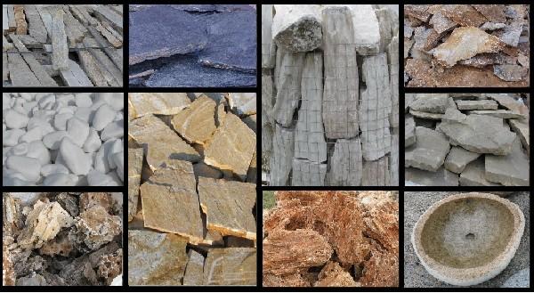 Kamienie Naturalne-dekoracyjne, Ogrodowy, Gnejs, łupek, Otoczaki 2