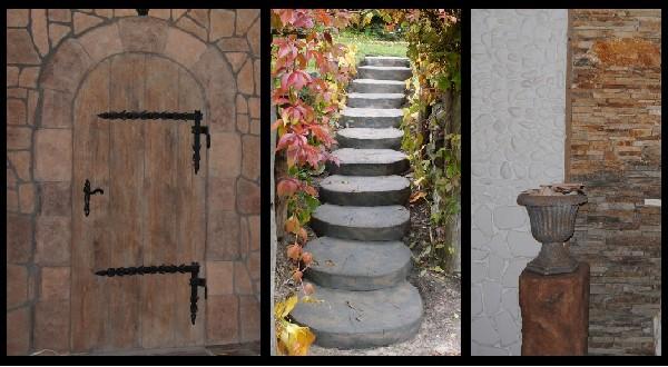 Kamienie Naturalne-dekoracyjne, Ogrodowy, Gnejs, łupek, Otoczaki 3