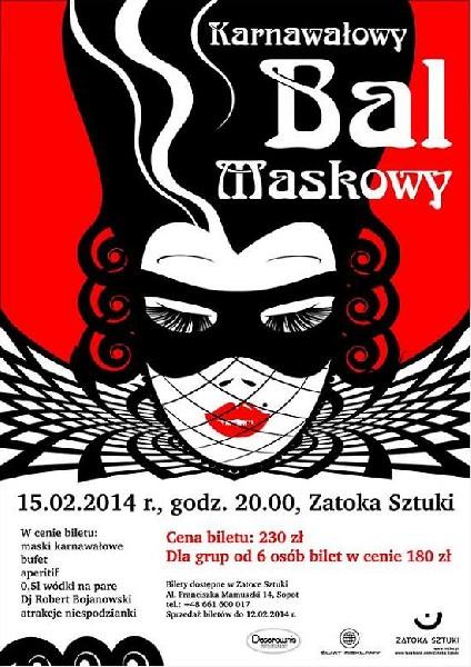 Zapraszamy Państwa Na Wyjątkowy Bal Maskowy W Sercu Sopotu. Idealny Prezent Na Walentynki!!!!!